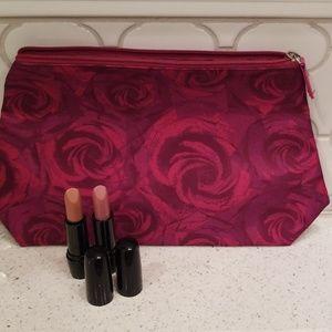 Lancome Lipstick and Cosmetic Bag
